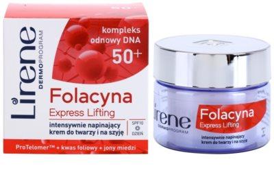 Lirene Folacyna 50+ creme de dia lifting SPF 10 1