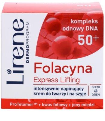 Lirene Folacyna 50+ creme de dia lifting SPF 10 2