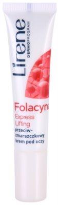 Lirene Folacyna 50+ crema cu efect lifting pentru ochi SPF 10