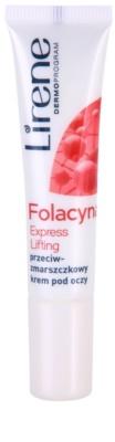 Lirene Folacyna 50+ creme de olhos com efeito lifting SPF 10