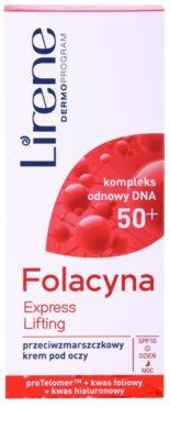 Lirene Folacyna 50+ oční liftingový krém SPF 10 2