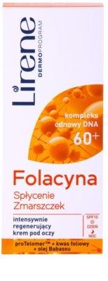 Lirene Folacyna 60+ розгладжуючий крем для очей SPF 10 2