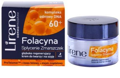Lirene Folacyna 60+ creme de noite suavizante 1