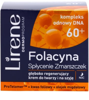 Lirene Folacyna 60+ creme de noite suavizante 2