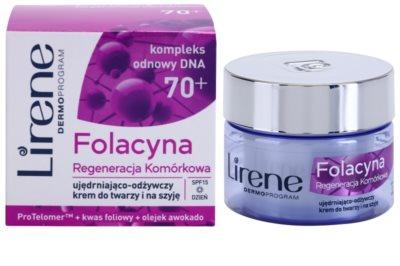 Lirene Folacyna 70+ creme de regeneração profunda SPF 15 1
