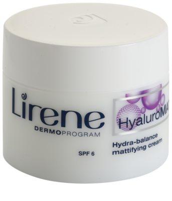 Lirene HyaluroMat mattító krém hialuronsavval SPF 6