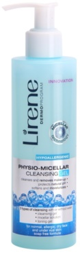 Lirene Hypoallergenic gel micelar desmaquillante fisiológico