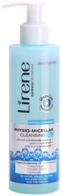 Lirene Hypoallergenic Gel micelar removedor fisiológico