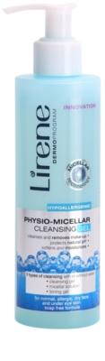 Lirene Hypoallergenic физиологичен мицеларен гел за почистване на грим