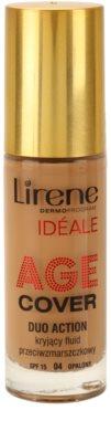 Lirene Idéale Age Cover deckendes Make up-Fluid gegen Falten