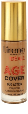 Lirene Idéale Age Cover покриващ фон дьо тен- флуид против бръчки