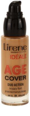 Lirene Idéale Age Cover máscara de composição fluida antirrugas 1