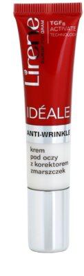 Lirene Idéale Anti-Wrinkle crema correctora para ojos