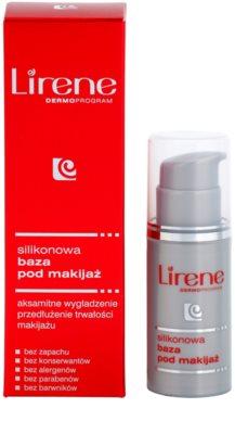 Lirene Idéale base de silicone para aplicar antes da maquilhagem com efeito alisador 2