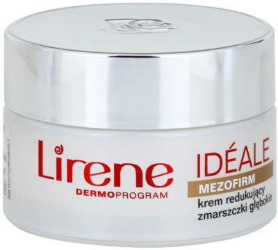 Lirene Idéale Mezofirm 55+ crema contra las arrugas profundas SPF 15