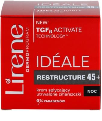 Lirene Idéale Restructure 45+ nočna krema za učvrstitev kože in proti gubam 3
