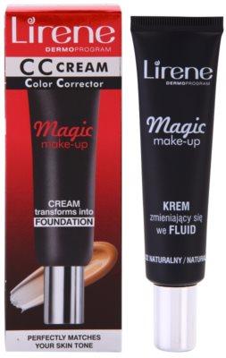 Lirene Magic crema CC con efecto humectante 1
