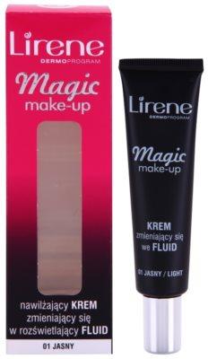 Lirene Magic fluid make-up az élénk bőrért 1