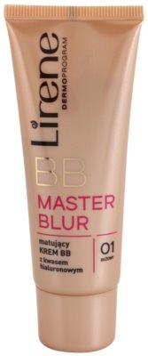 Lirene Master Blur BB cream matificante com ácido hialurônico com ácido hialurónico