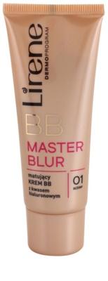 Lirene Master Blur crema BB matificante con ácido hialurónico