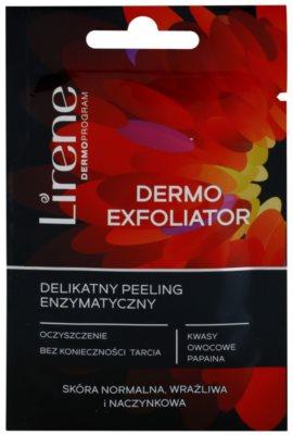 Lirene Masks and Peeling exfoliante enzimático suave para pieles sensibles con tendencia a las rojeces