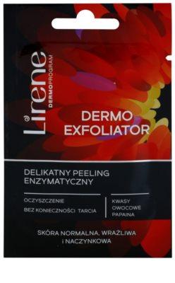 Lirene Masks and Peeling sanftes enyzmatisches Peeling für empfindliche Haut mit der Neigung zum Erröten