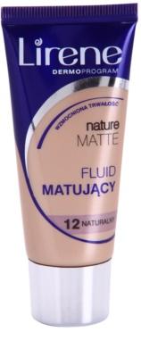 Lirene Nature Matte matirajoči fluidni tekoči puder za dolgoobstojen učinek