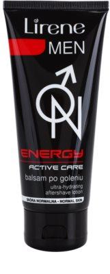 Lirene Men Energy balzam za po britju z vlažilnim učinkom