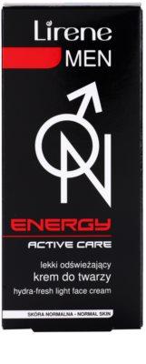 Lirene Men Energy освіжаючий зволожуючий крем 3