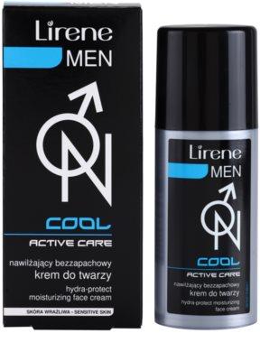Lirene Men Cool hydratisierende und schützende Creme Nicht parfümiert 2