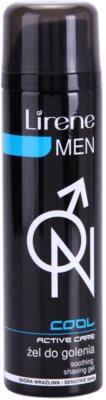 Lirene Men Cool gel za britje s pomirjevalnim učinkom