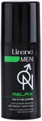 Lirene Men Relax creme hidratante anti-idade para rosto e olhos