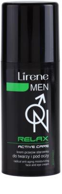 Lirene Men Relax vlažilna krema proti staranju za obraz in oči