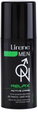 Lirene Men Relax зволожуючий крем проти старіння шкіри для обличчя та очей