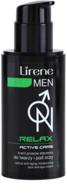 Lirene Men Relax creme hidratante anti-idade para rosto e olhos 1