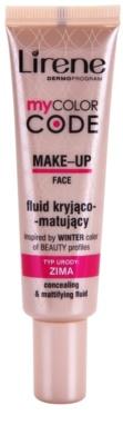 Lirene My Color Code fluid make-up matt hatással