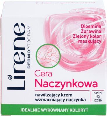 Lirene Redness nappali hidratáló krém SPF 20 1