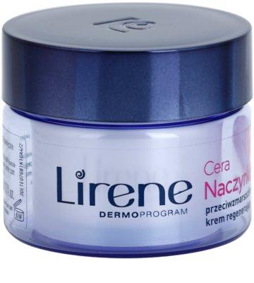 Lirene Redness nočna regeneracijska krema proti gubam