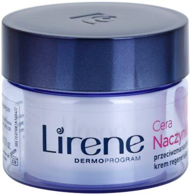 Lirene Redness нічний відновлюючий крем проти зморшок