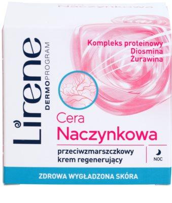 Lirene Redness crema regeneratoare de noapte antirid 2