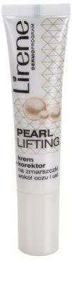 Lirene Pearl Lifting Korrekturcreme für die Konturen von Augen und Lippen 45+