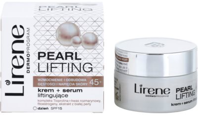 Lirene Pearl Lifting ser crema de zi cu efect de reintinerire 45+ 2