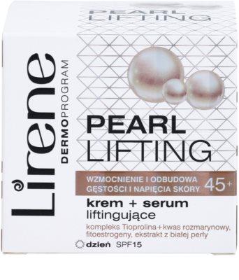 Lirene Pearl Lifting ser crema de zi cu efect de reintinerire 45+ 3