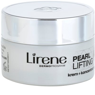 Lirene Pearl Lifting ser crema de noapte cu efect regenerator 45+