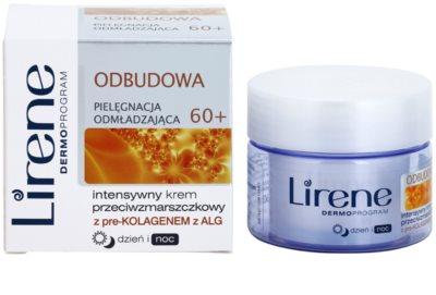 Lirene Rejuvenating Care Restor 60+ інтенсивний крем проти зморшок для відновлення пружності шкіри 1