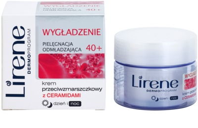 Lirene Rejuvenating Care Smoothing 40+ Anti-Faltencreme mit glättender Wirkung 1
