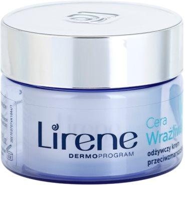 Lirene Sensitive Skin crema hranitoare anti-rid SPF 15