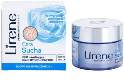 Lirene Dry Skin vlažilna krema za obraz 24 ur 1