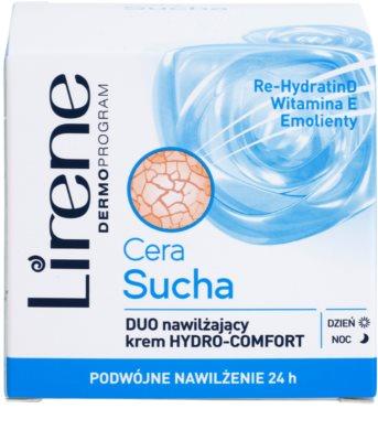 Lirene Dry Skin vlažilna krema za obraz 24 ur 2