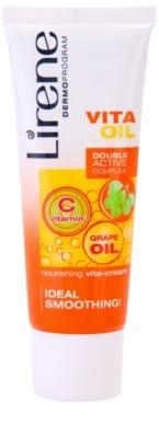 Lirene Vita Oil 35+ crema nutritiva con efecto alisante